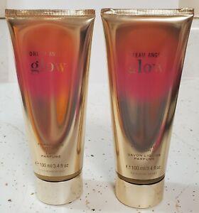 Victoria's Secret DREAM ANGELS GLOW Fragrance Body Lotion + Wash - 3.4 oz - NEW