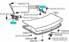TOYOTA 64510-20140 64520-20130 Trunk Lid Hinge ASSY LH & RH Celica 1990-1993