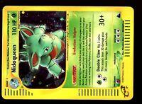 POKEMON SKYRIDGE HOLO (ENGLISH CARD) CARTE N° H21/H32 NIDOQUEEN 110 HP