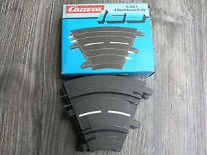 Carrera 160 Gauge 4 Piece Curve 0/45° 63501