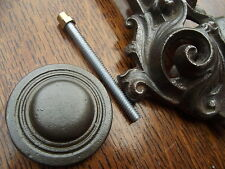 Replacement Cast Iron Door Knocker Striker Plate vintage victorian old style pin