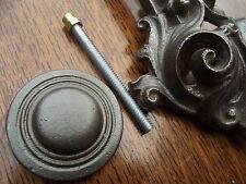 Sostituzione ghisa con batacchio PIASTRINA DI Vintage Vittoriano Vecchio Stile Pin