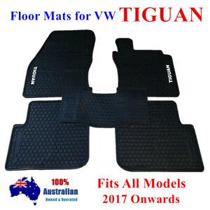 All Weather waterproof Rubber Floor Mats For Volkswagen Tiguan 18 - 2021 Current
