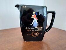 Pichet faïence Moulin des loups Johnnie Walker Black Label