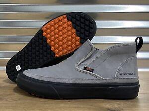 Vans Mid Slip SF MTE Sam Taxwood Skate Shoes Gray Black SZ 9 ( VN0A3ZCA0BR )