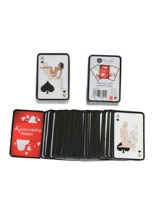 Kamasutra Pocket Size Playing Card Game Adult Erotic Sex Naughty Fantasy Couple