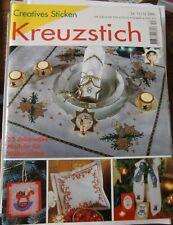 Creatives Sticken 11/12-2000 Kreuzstich: 32 Modelle für die Weihnachtszeit