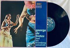 George de Fretes & His Krontjong Minstrels Arjati 1968 LP Vinyl Netherlands NM-