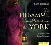 SAM THOMAS - DIE HEBAMME UND DAS RÄTSEL VON 6 CD NEU