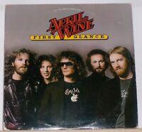 April Wine - First Glance - Original 1977 LP Record Album - Roller