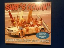 SURFS COMING.    75  COOL TRACKS FROM  THE PIONEERS OF SURF.    3 CD. BOXSET