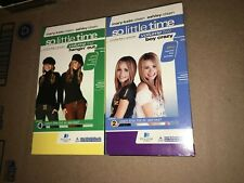 VHS Mary Kate & Ashley So Little Time Volume 4 Hangin' Out + Boy Crazy Volume 2