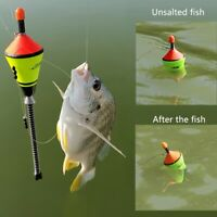 Automatic Fishing Bobbers Float Bite Fishing Tackle Stainless Steel Hook US