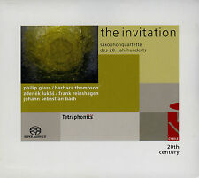 GLASS / REINSHAGEN / THOMPSON / LUKAS - QUATUOR DE SAXOPHONES - SACD HYBRID
