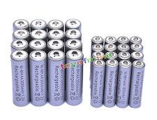 16x3000mAh AA + 16x AAA 1800mAh 1.2V NI-MH recargables batería 2A 3A color Gris