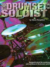 Learn The Drumset Soloist Drums Solo Music Book + CD