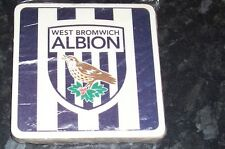 WBA West Bromwich Albion FC Pack of Official Beer Mats Coasters  FREE POSTAGE UK