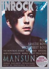 InRock Japan Feb/99 Mansun on Cover Blur backstreet Boys Beestie Boys