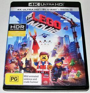 THE LEGO MOVIE ---- ( 4K HD + Blu-Ray + Digital )
