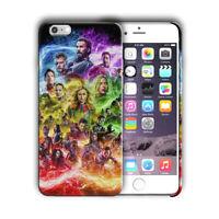 Avengers Endgame Iphone 4 4s 5 5s 5c SE 6 6s 7 8 X XS Max XR 11 Pro Plus Case 3