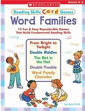 Word Families : 15 Fun and Easy Reproducible Games That Build Fundamental...