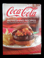 Coca-Cola  Refreshing Recipes Spiral Cookbook- BRAND NEW
