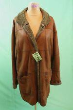 Traumhafter Lamm Fell Mantel Gr 38/M braun vintage Damen leicht dünn shearling