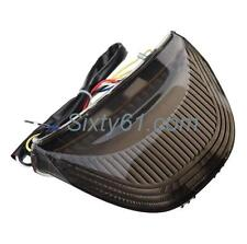 Honda CBR 1000RR Tail Light 2004 2005 2006 2007 LED Integrated Turn Signal Smoke