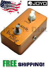 New JOYO JF-06 Vintage Phase Effects Pedal FX Stompbox 70's Phaser True Byp