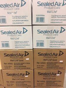 MAIL LITE BUBBLE BAGS WHITE + GOLD A000 B00 C0 D1 E2 F3 G4 H5 J6 K7 FREE 24H DEL