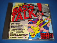 CD MORE BASS TALK ! 2 HOT WIRES RECORDS 9007C percy jones goines peter sonntag