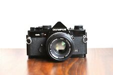 OLYMPUS OM-2N    w/ Zuiko 50mm f/1.8  ,  35mm film SLR Camera    * Good/ Read *