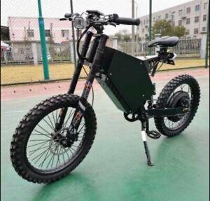 Stealth Bomber Electric Bike - 8000 watts