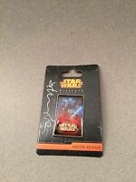 Disney Parks Star Wars Weekends 2015 Jedi Mickey Pin Signed by Artist