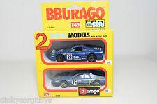 BBURAGO BURAGO 4200 GIFT SET GIFTSET 2 CARS FERRARI 308 GTB RALLY N MINT BOXED