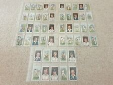 More details for wd & ho wills - cricketers 2nd series cigarette cards 1929 full set of 50 sports