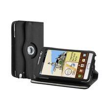 Housse coque étui pour Samsung Galaxy Note de luxe avec sytème de rotation à 360