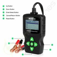 LCD Vehicle Car Digital 6V 12V 18V Battery Test Analyzer Diagnostic Tool New