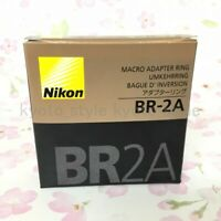 NIKON Official BR-2A Macro Adapter Ring 52mm 13026 JAPAN IMPORT