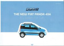 Fiat Panda 4x4 2005 With Cut Out Advertising Supplement Magazine Brochure