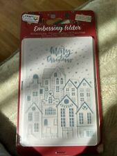 EMBOSSING FOLDER FOR SCRAPBOOKING CHRISTMAS 10X15 CM (F)