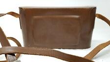 Antique Tan Leather Camera Case Six-16 Field Case Kodak