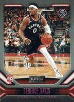 NBA Panini Chronicles 2019/2020 Rookie Card Terence Davis No 177 Pink