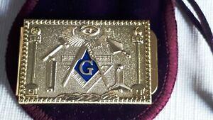 Masonic Mason Freemason Logo Money Clip Credit Card Holder Gift