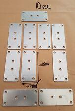 10 x Cucina Porta A Porta e Cassetto unisce a piastre di connessione in acciaio zincato