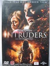 Intruders  [DVD, 2012] Nordic Packaging NEW SEALED Pal Region 2