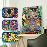 Owl DIY 5D Special Diamond Painting Embroidery Cross Stitch Kit Crafts
