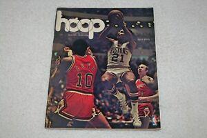 1974 Portland TrailBlazers PROGRAM vs Detroit Pistons 10/19/74 * Dave Bing cover