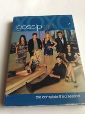 Gossip Girl - The Complete Third Season DVD Set New Sealed Season Three 3