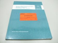 MERCEDES Neuerungen Personenwagen 1986 1987 Werkstatthandbuch Repair Manual